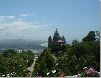 Blick von der Pousada bei Vania do Castelo