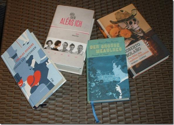 Vier neueeworbene Romane