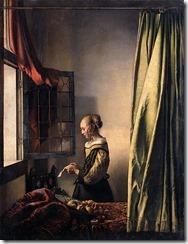 Jan Vermeer_Briefleserin am offenen Fenster