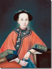Lady Hoja_Consort of the Qing Dynasty Qianlong Emporor