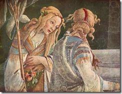 Sandro-Botticelli-Sixtinische-Kapelle-Die-Jugend-des-Moses-Detail
