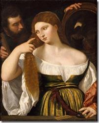 Tizian_Frau im Spiegel_1515_Louvre_Laura Dianti